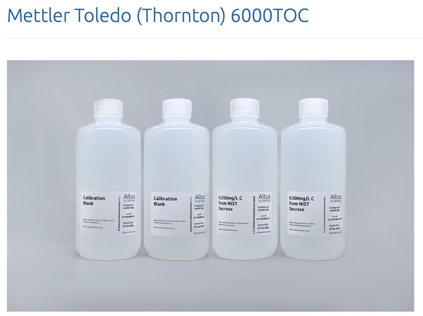 Chất chuẩn TOC Model 6000TOC